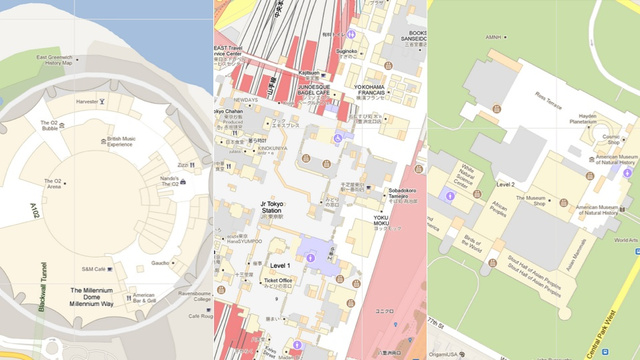 Google Maps Brings Indoor Plans to Your Desktop