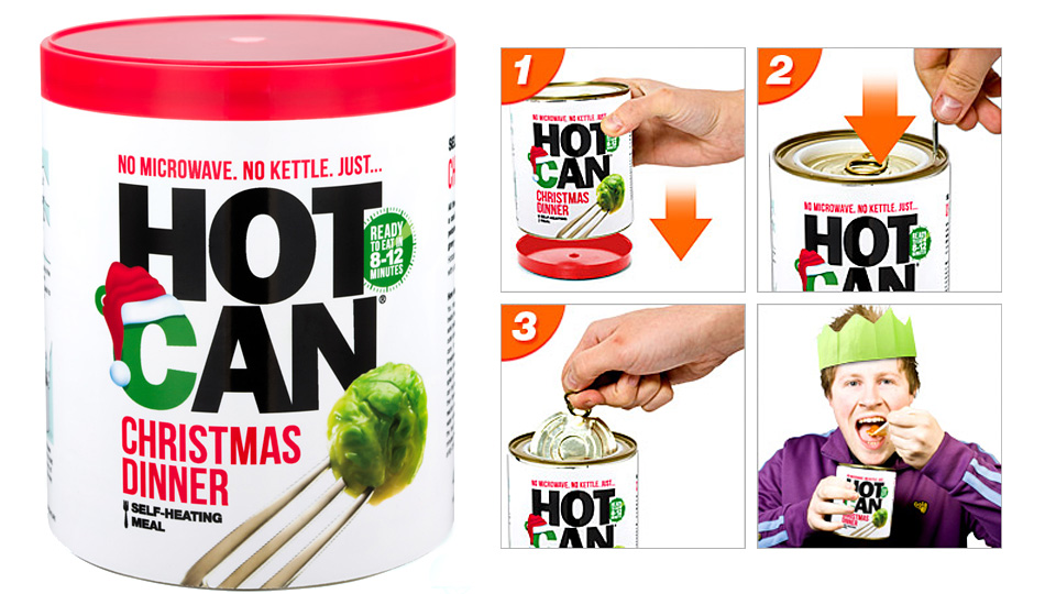 Click here to read A Self-Heating Dinner In a Can Is a Depressing Way To Spend a Holiday