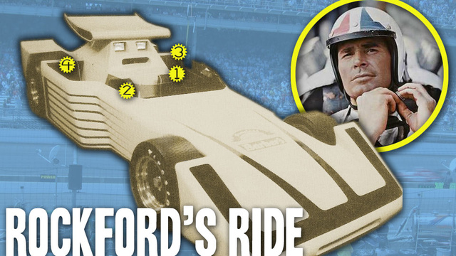 The Mystery Of James Garner's Secret Indy Car