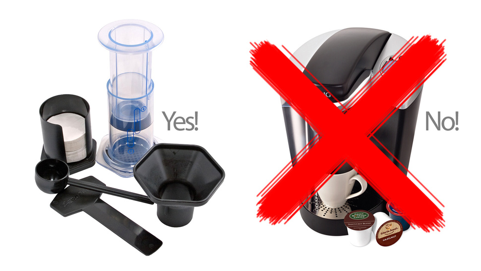 How to Beat a K-Cup With Simple Coffee Gadgets