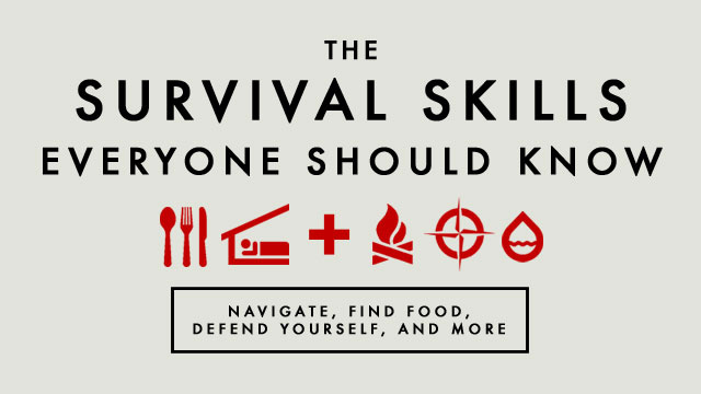 Survival skills everyone should know youtube