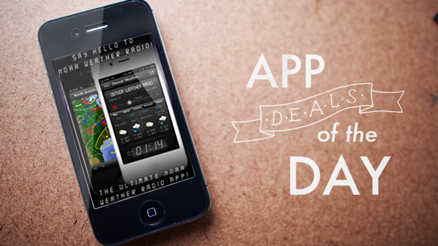 Daily App Deals: Get NOAA Weather Radio for iPhone for 50% Off in Today's App Deals
