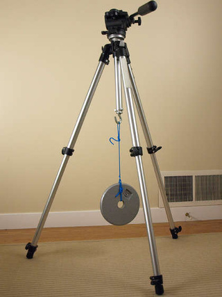 Add a Weight-Stabilizing Hook to Your Camera Tripod