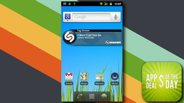 Daily App Deals: Get Shazam Encore for Android for 10¢ in Today's App Deals