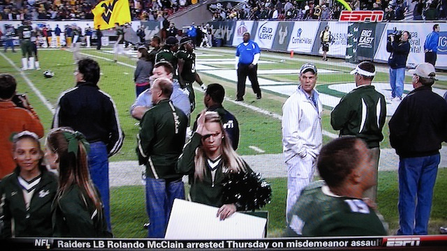 Allow This Cheerleader To Tell You Exactly How South Florida Did Last Night Against West Virginia