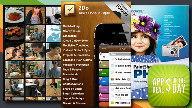 Daily App Deals: Get 2Do: Tasks Done in Style at 75% Off for a Limited Time in Today's App Deals