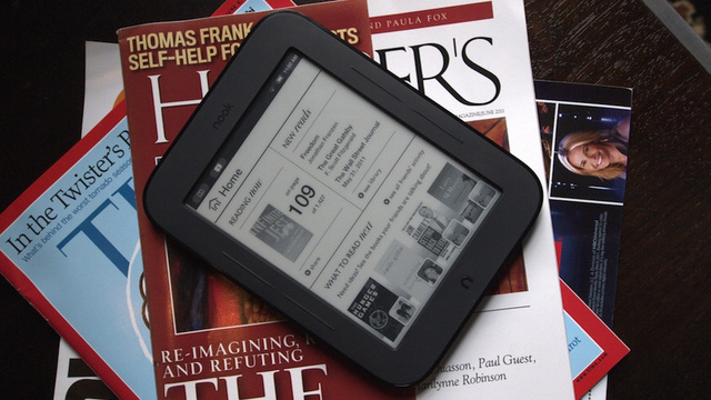 Nook Simple Touch Now Lives Longer and Turns Pages Faster