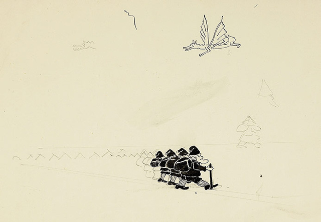 Art of the Hobbit: Never-Before-Seen Drawings by J.R.R. Tolkien