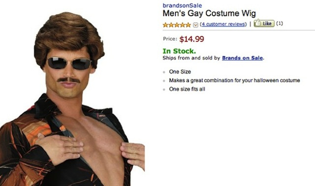 New 'Gay Costume Wig' Sure to Be a Hit at Any Halloween Party