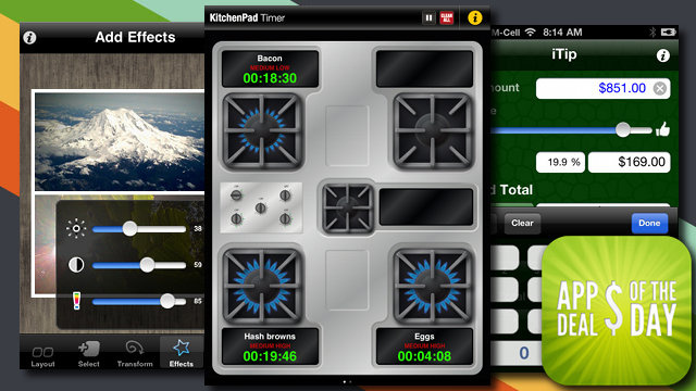 Daily App Deals:  Get Some Help in the Kitchen with KitchenPad for Free
