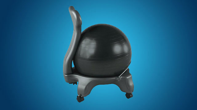 Why I Switched My Office Chair with an Exercise Ball (and What ...