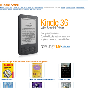Five Best Ebook Stores