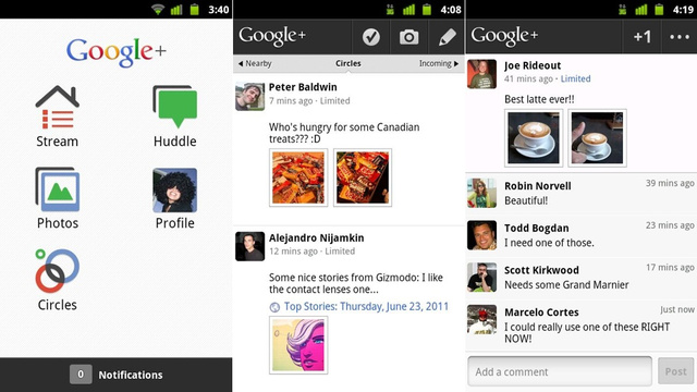 Google+ for Android Is Like Having Facebook, iCloud and GroupMe in One App