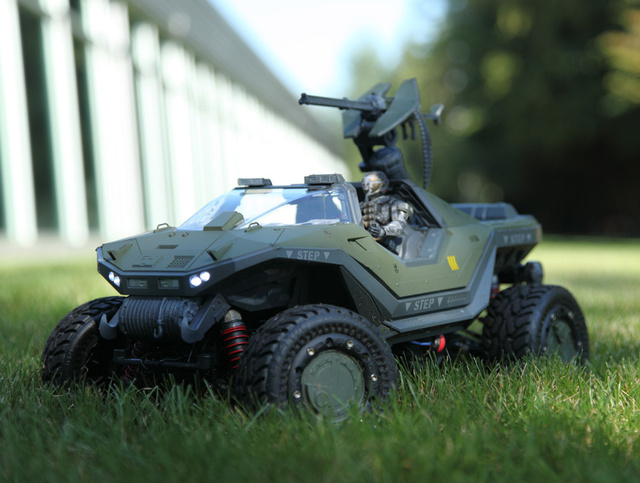 Get In The (R/C) Warthog!