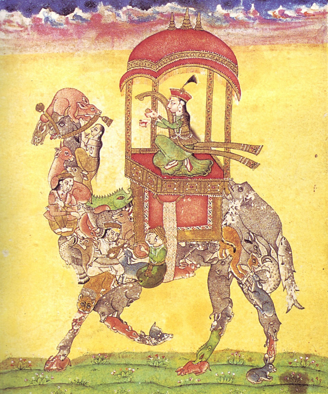 These centuries-old Mughal paintings were the original Voltrons