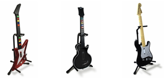 ezGear Guitar Hero/Rock Band Guitar Stand Costs More Than Regular Guitar Stands