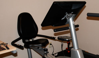 Nerdcycle Mounted Monitor Exercise Bike