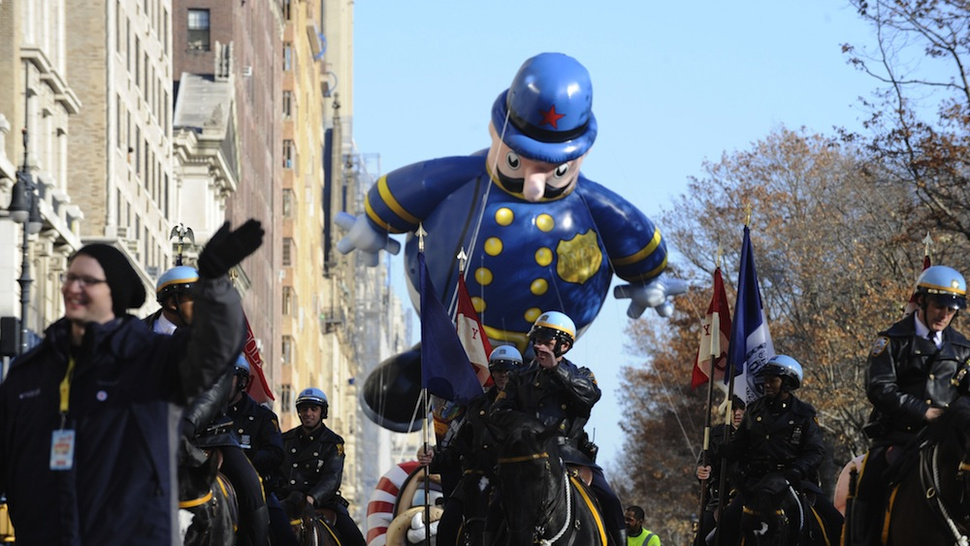 Oops. Confetti at Macy's Thanksgiving Day Parade Was Made of Still-Readable Confidential Police Docs
