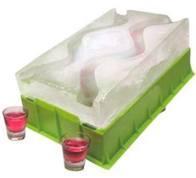 Party Shot Luge for Bringing Out the 21-Year-Old Girl in You