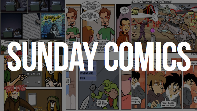 Sunday Comics: The Kitchen Sink