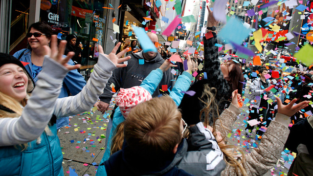 Oops: Macy's Parade Confetti Included Shredded Confidential Police Documents