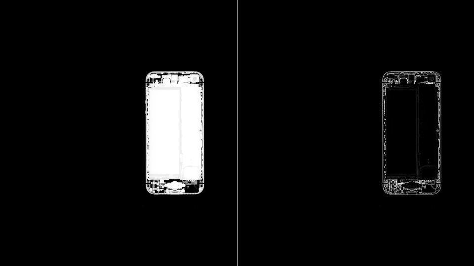 Click here to read X-Ray Image Shows the iPhone 5 Totally Buck Naked