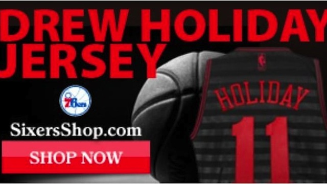 "The 76ers' Website Apparently Was Selling ""Drew Holiday&qu…"