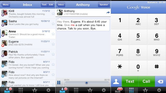 Google Voice Finally Gets Updated for iOS 6