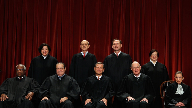 Supreme Court Justices' Sweet, Sweet Asses Set to Decide Landmark Sexual Harassment Case