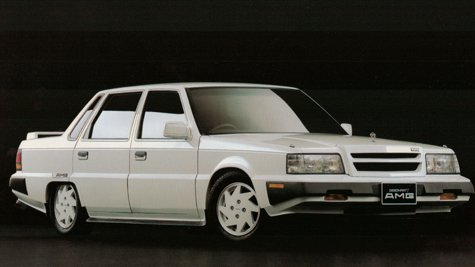 Forgotten Cars: Anyone Remember The Time AMG Did Up A Mitsubishi?