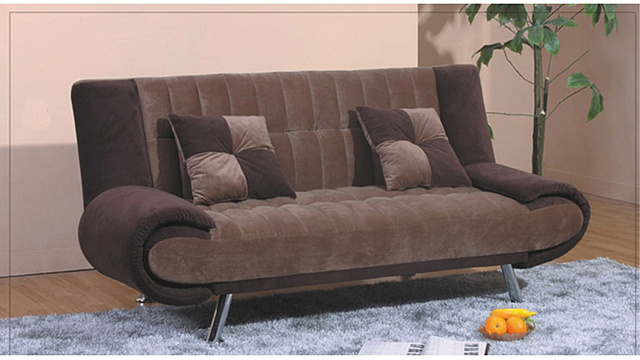 'Barack Light Brown Sofa' Now Available on Overstock.com