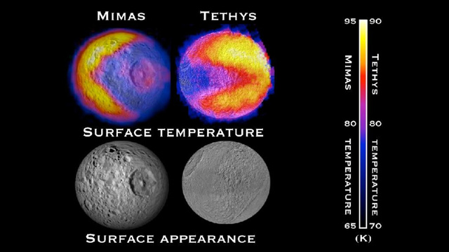 "Saturn's moons could comprise ""a veritable arcade"" of Pac-Men"