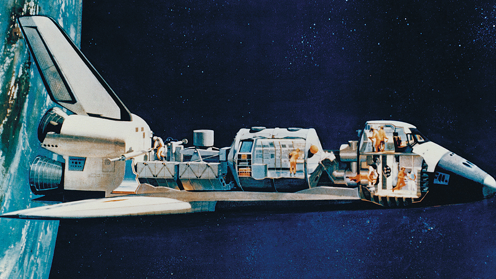 spacecraft cutaway - photo #10