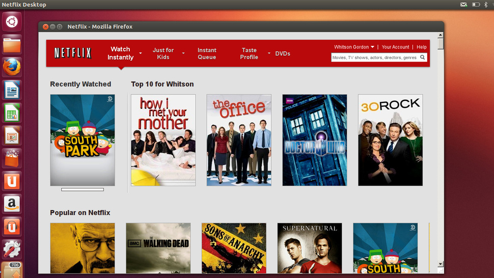 Netflix Finally Comes to Ubuntu in the Form of an Unofficial Desktop App