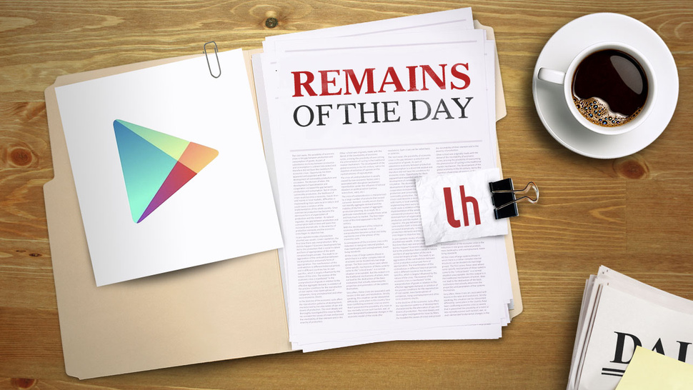Remains of the Day: Google Play May Be Sending Your Information to Developers