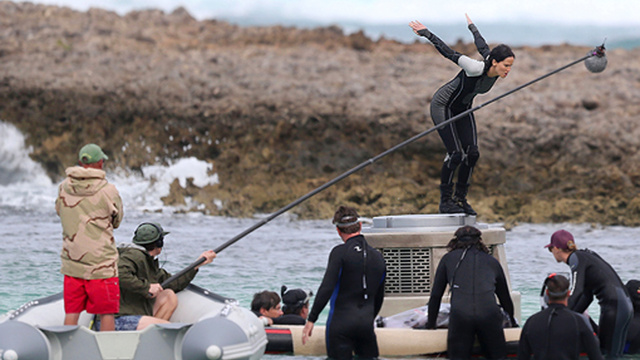 Spoiler Alert: Here's Jennifer Lawrence Looking Slippery as Katniss in Catching Fire