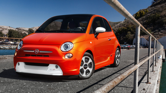 The Fiat 500E Is An Electric Car You Can Only Buy In California