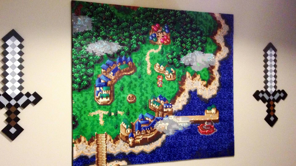 This <em>Chrono Trigger</em> Wall Art Will Melt Your Brain