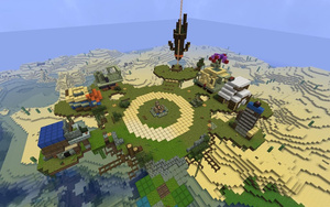 Someone Made All Of Bastion's Home Base In Minecraft