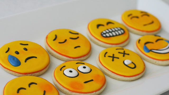 Emoji Cookies. I Repeat, Emoji Cookies.