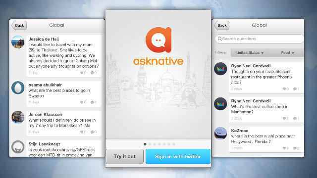 Asknative Gets Locals to Answer Your Travel Questions