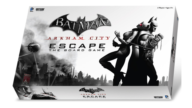 Play As Batman Or His Foes In The Upcoming Arkham City Board Game