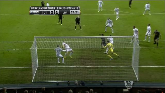 Spurs Suffered An Own Goal When Aaron Lennon Kicked The Ball Of…