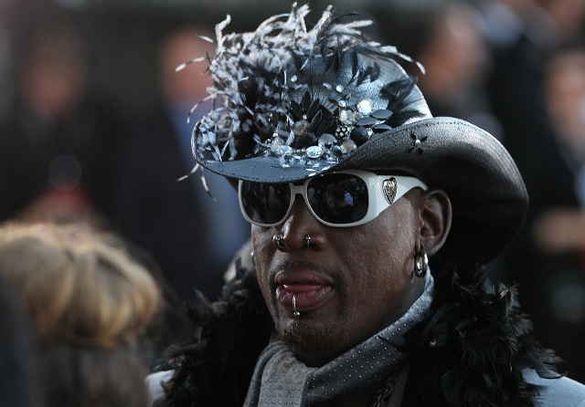 Do You Want To Watch A Basketball Game On TV With Dennis Rodman For $59?