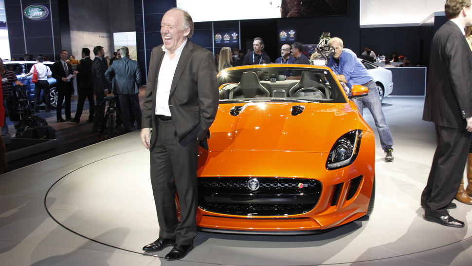 Why Is Jaguar Chief Designer Ian Callum Laughing Like A Madman?