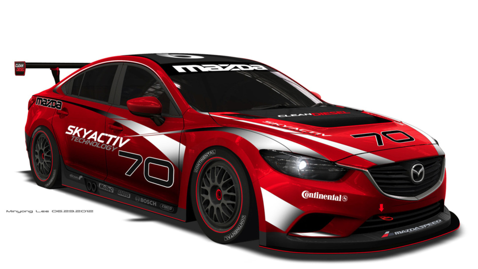 The Diesel Powered Mazda6 Is Going Racing