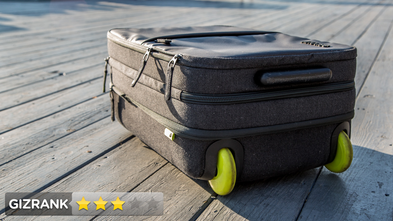 Incase EO Roller Review: The Stylish Gadget Suitcase