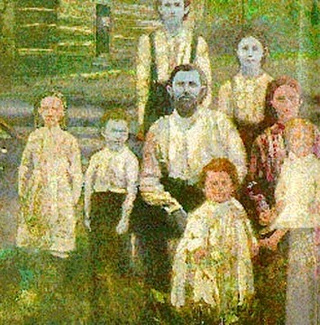 The family that's had blue skin since the 1800s