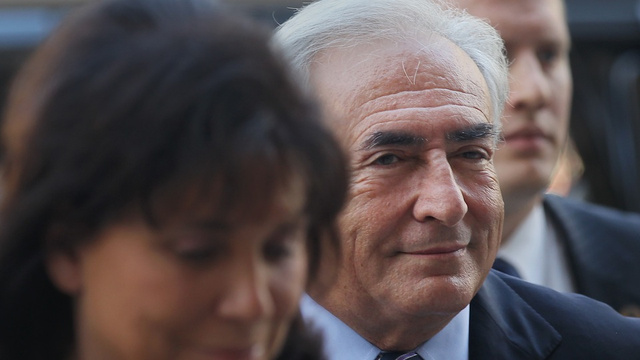 Dominique Strauss-Kahn Has to Borrow Wife's Money to Settle Assault Lawsuit