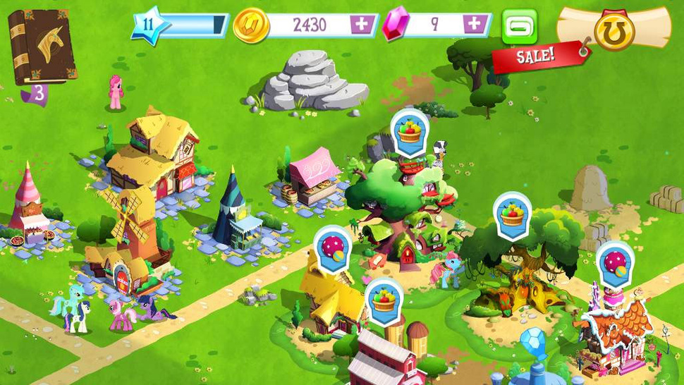 Gameloft Working to Correct <em>My Little Pony</em> Problems